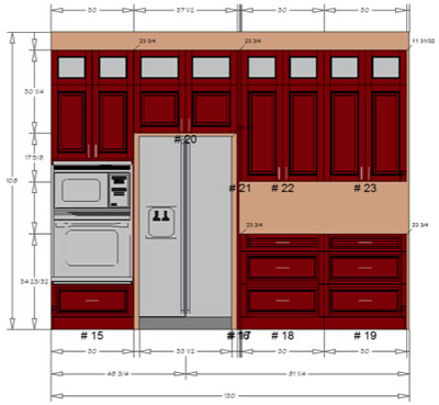 Autocad Kitchen Renderings  sc 1 st  TWS Doors Kitchen Design - The Premiere Location for Kitchen ... & TWS Doors Kitchen Design - The Premiere Location for Kitchen ...